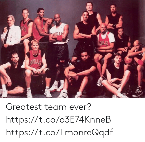 ever: Greatest team ever? https://t.co/o3E74KnneB https://t.co/LmonreQqdf