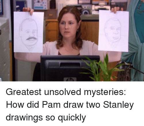 The Office, Drawings, and How