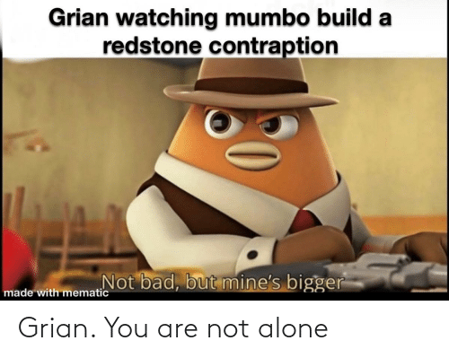 Not Alone: Grian. You are not alone