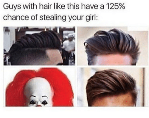Girl, Hair, and Your Girl: Guys with hair like this have a 125%  chance of stealing your girl: