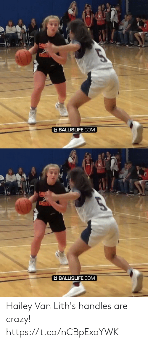 crazy: Hailey Van Lith's handles are crazy! https://t.co/nCBpExoYWK