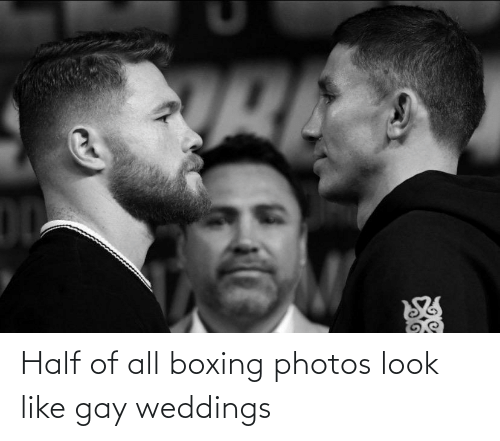 look: Half of all boxing photos look like gay weddings