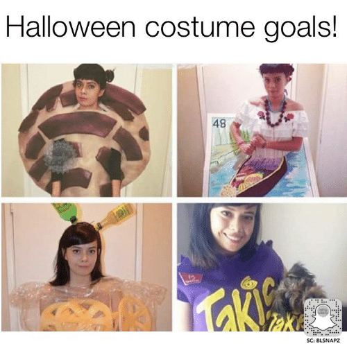 halloween memes and halloween costumes halloween costume goals 48 sc blsnapz