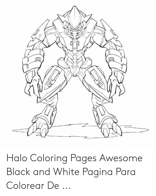 Big Man Halo 3 Coloring Pages |Xbox Halo 3| Coloring Pages Free | 626x500