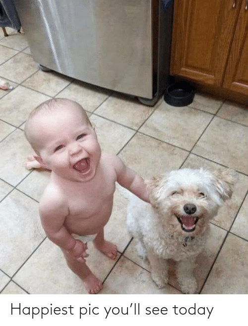 happiest: Happiest pic you'll see today
