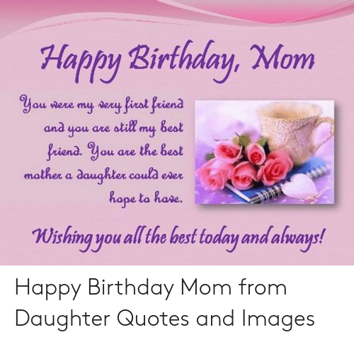 🐣 25+ Best Memes About Happy Birthday Mom From Daughter   Happy