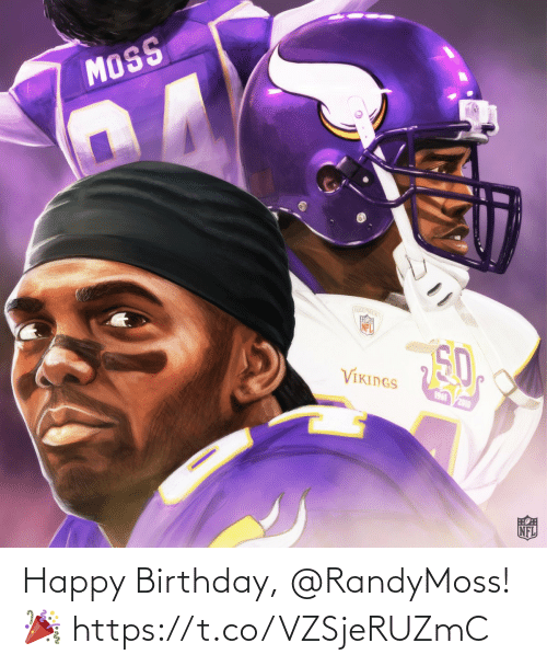 Happy Birthday: Happy Birthday, @RandyMoss! 🎉 https://t.co/VZSjeRUZmC