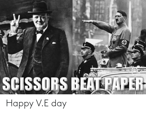 V: Happy V.E day