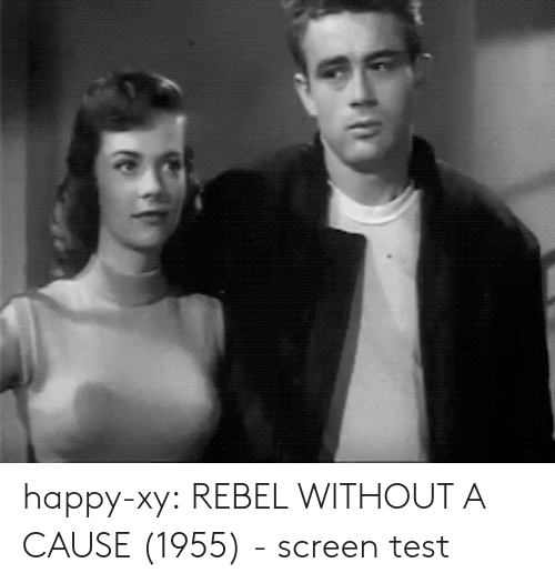 Target, Tumblr, and Blog: happy-xy: REBEL WITHOUT A CAUSE (1955) -screen test