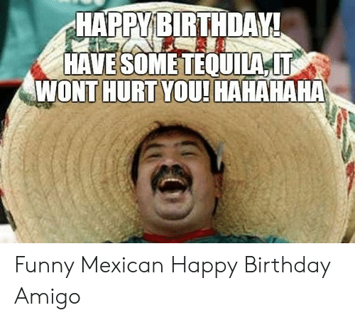 Funny Mexican Birthday Pictures Gif