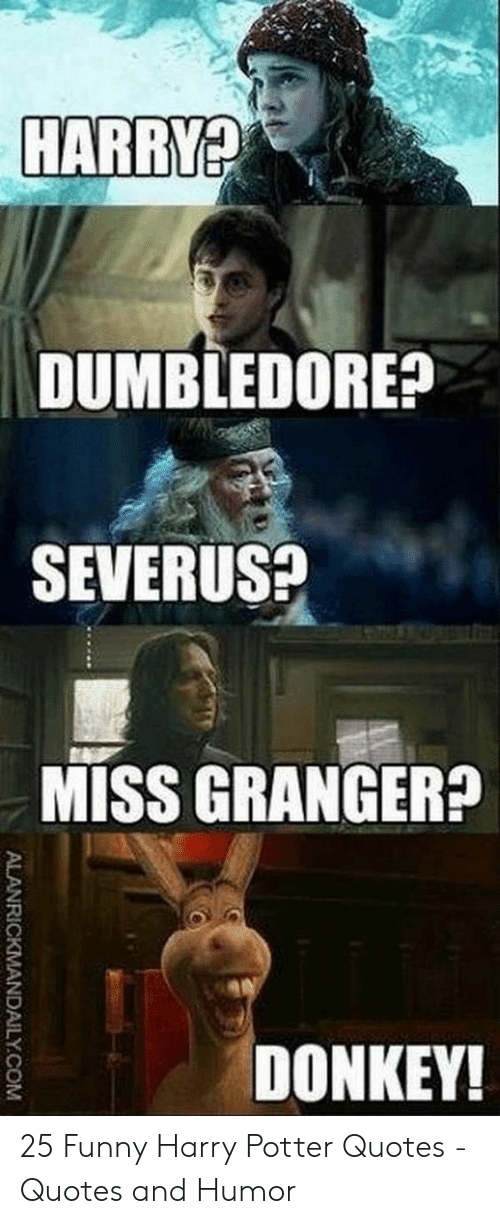 🐣 25+ Best Memes About Funny Harry Potter Quotes | Funny ...
