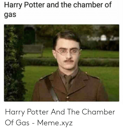 Harry Potter and the Chamber of Gas Harry Potter and the Chamber of