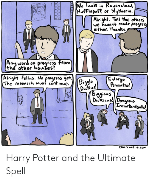 spell: Harry Potter and the Ultimate Spell