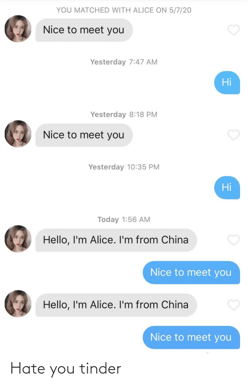 hate: Hate you tinder