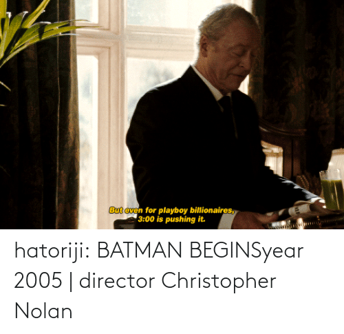 christopher: hatoriji:  BATMAN BEGINSyear 2005 | director Christopher Nolan