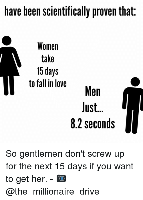 Scientifically how long does it take to fall in love