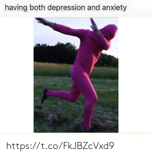 Anxiety, Depression, and And: having both depression and anxiety https://t.co/FkJBZcVxd9