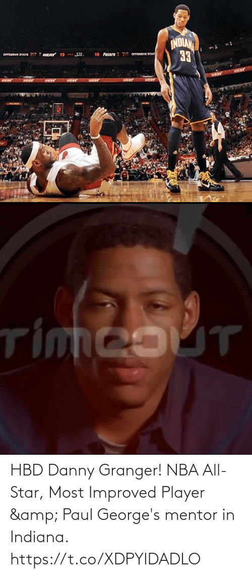nba all star: HBD Danny Granger! NBA All-Star, Most Improved Player & Paul George's mentor in Indiana. https://t.co/XDPYIDADLO