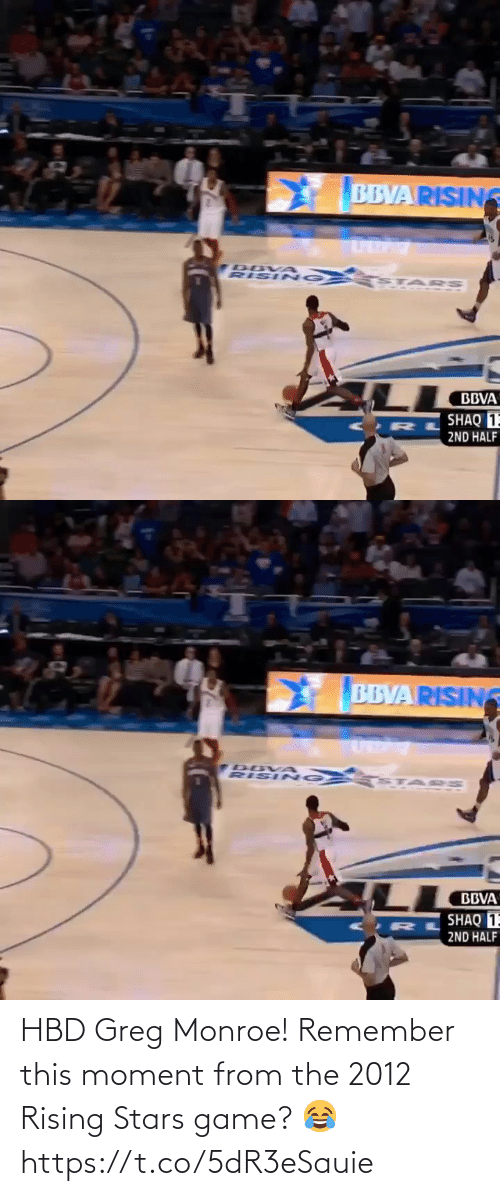 moment: HBD Greg Monroe! Remember this moment from the 2012 Rising Stars game? 😂 https://t.co/5dR3eSauie
