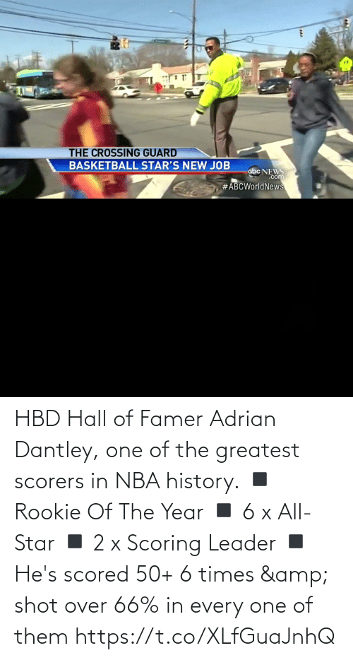 adrian: HBD Hall of Famer Adrian Dantley, one of the greatest scorers in NBA history.  ◾ Rookie Of The Year ◾ 6 x All-Star ◾ 2 x Scoring Leader ◾ He's scored 50+ 6 times & shot over 66% in every one of them  https://t.co/XLfGuaJnhQ
