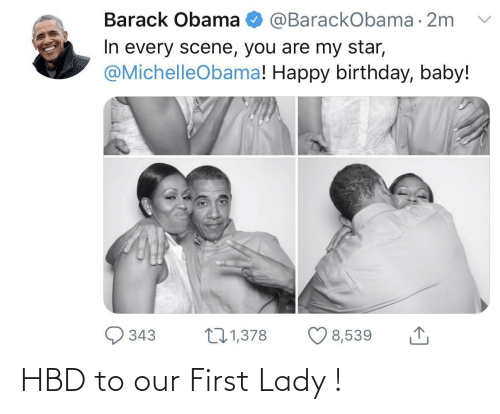 first: HBD to our First Lady !