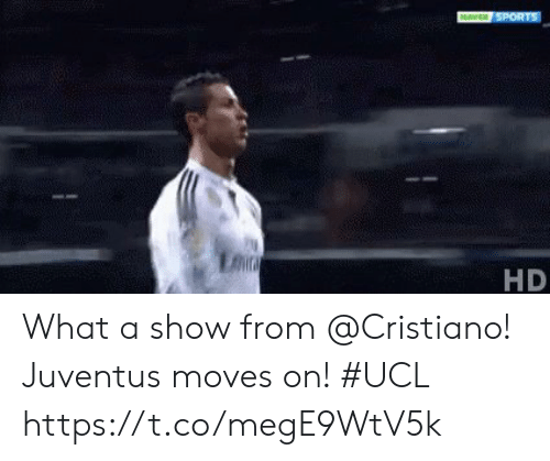 Juventus: HD What a show from @Cristiano!  Juventus moves on! #UCL https://t.co/megE9WtV5k