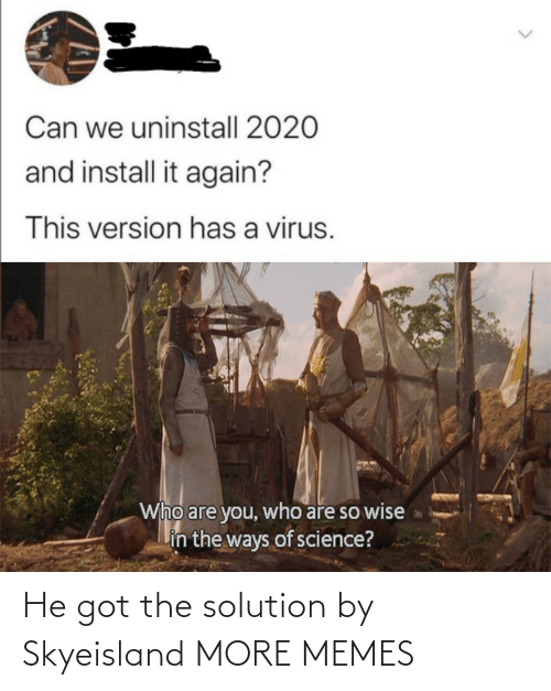 Target: He got the solution by Skyeisland MORE MEMES
