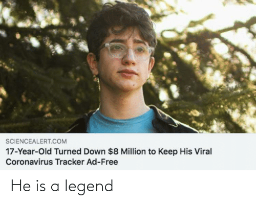 legend: He is a legend