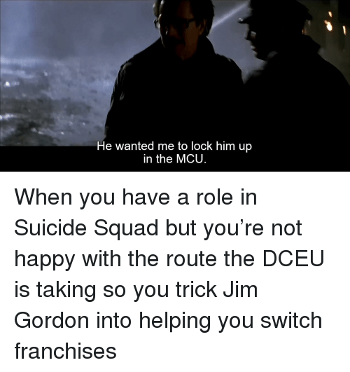 He Wanted Me to Lock Him Up in the MCU | Squad Meme on