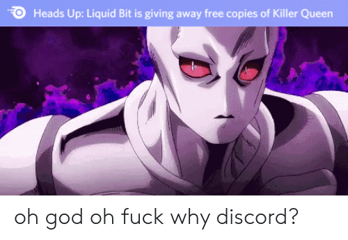 God, Queen, and Free: Heads Up: Liquid Bit is giving away free copies of Killer Queen oh god oh fuck why discord?