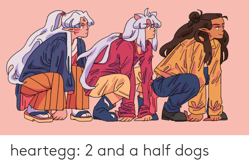 Dogs, Target, and Tumblr: heartegg:  2 and a half dogs