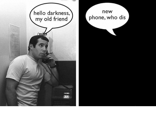 Image result for friends on the phone meme