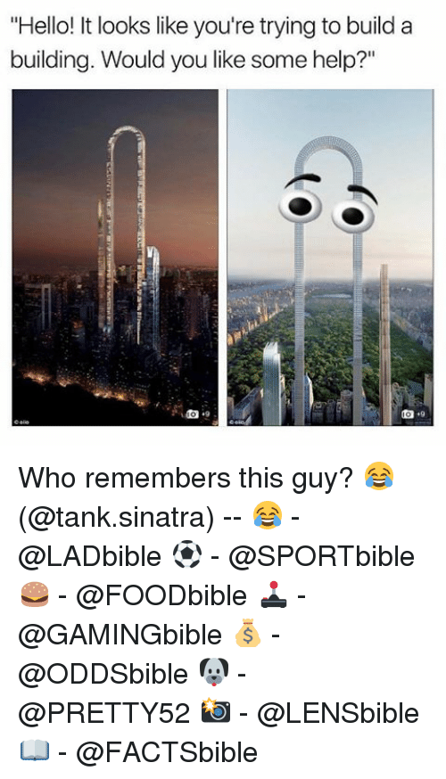 """Hello It: """"Hello! It looks like you're trying to build a  building. Would you like some help?"""" Who remembers this guy? 😂 (@tank.sinatra) -- 😂 - @LADbible ⚽ - @SPORTbible 🍔 - @FOODbible 🕹 - @GAMINGbible 💰 - @ODDSbible 🐶 - @PRETTY52 📸 - @LENSbible 📖 - @FACTSbible"""