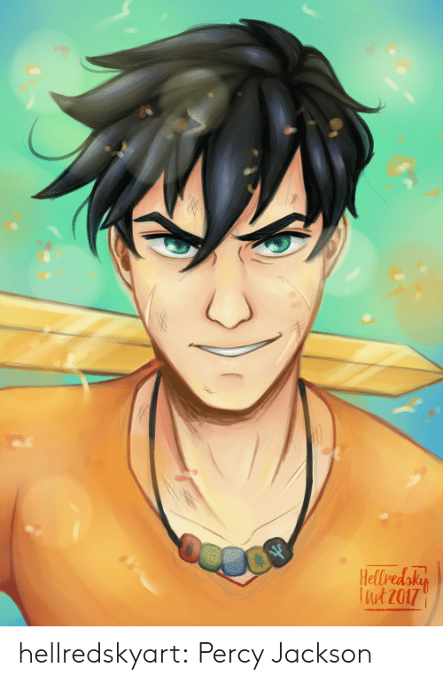 Target, Tumblr, and Blog: Hellredaky  Tut 2017 hellredskyart:  Percy Jackson