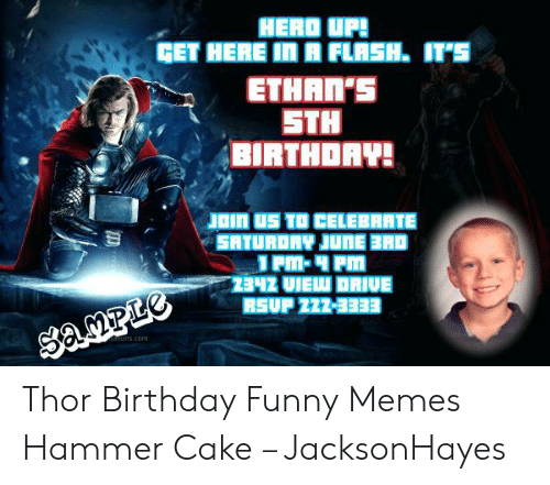 Herd Up Ethans Sth Birthdav Join Us To Celebrate Satu Thor