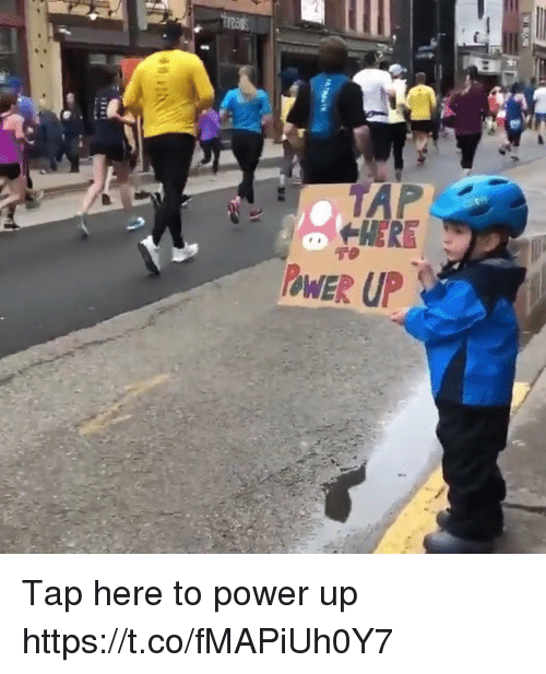 Power Up: HERE  PWER UP Tap here to power up https://t.co/fMAPiUh0Y7
