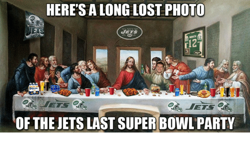 Memes, Party, and Super Bowl: HERE'S A LONG LOST PHOTO  EIS 2  OF THE JETS LAST SUPER BOWL PARTY