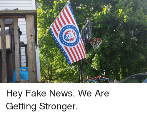 Fake, News, and Hey