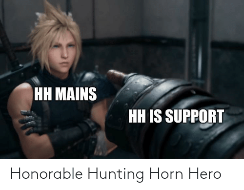 hunting horn monster hunter world memes