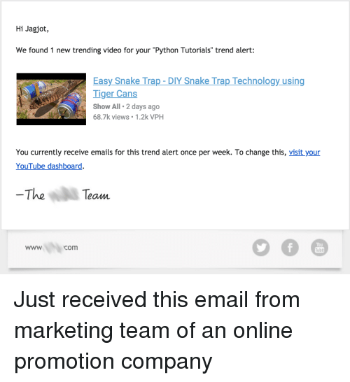 Python Receive Email