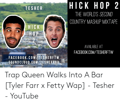 HICK HOP 2 НОР 2 TESHER THE WORLDS SECOND COUNTRY MASHUP MIXTAPE