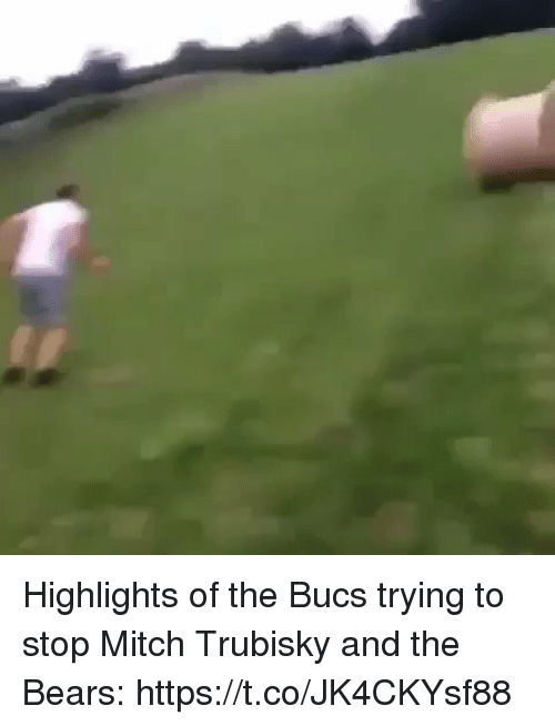 bucs: Highlights of the Bucs trying to stop Mitch Trubisky and the Bears: https://t.co/JK4CKYsf88