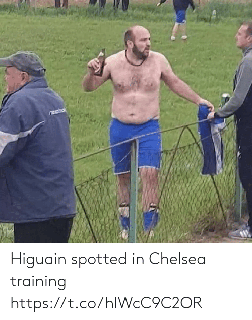 higuain: Higuain spotted in Chelsea training https://t.co/hlWcC9C2OR