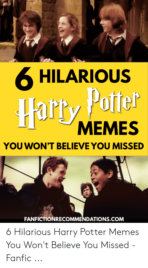 🐣 25+ Best Memes About Hilarious Harry Potter | Hilarious