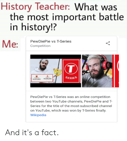 History Teacher What Was the Most Important Battle in History