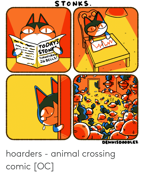 Crossing: hoarders - animal crossing comic [OC]