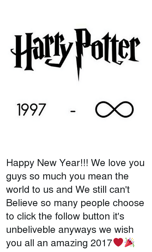 memes the following and hoty potter 1997 happy new year