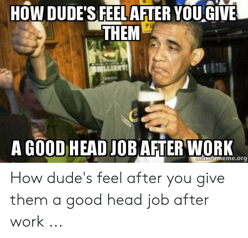 How to give a great head job