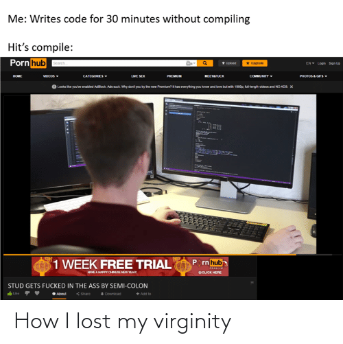 Lost: How I lost my virginity