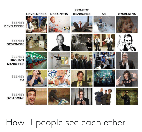 How It: How IT people see each other